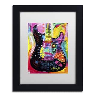 Dean Russo 'Lenny Strat' Matted Framed Art https://ak1.ostkcdn.com/images/products/12984006/P19731042.jpg?impolicy=medium
