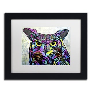 Dean Russo 'The Owl' Matted Framed Art