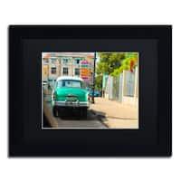 Masters Fine Art 'American Car in Havana' Matted Framed Art