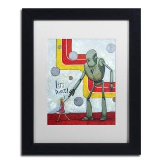 Craig Snodgrass 'Let's Dance' Matted Framed Art