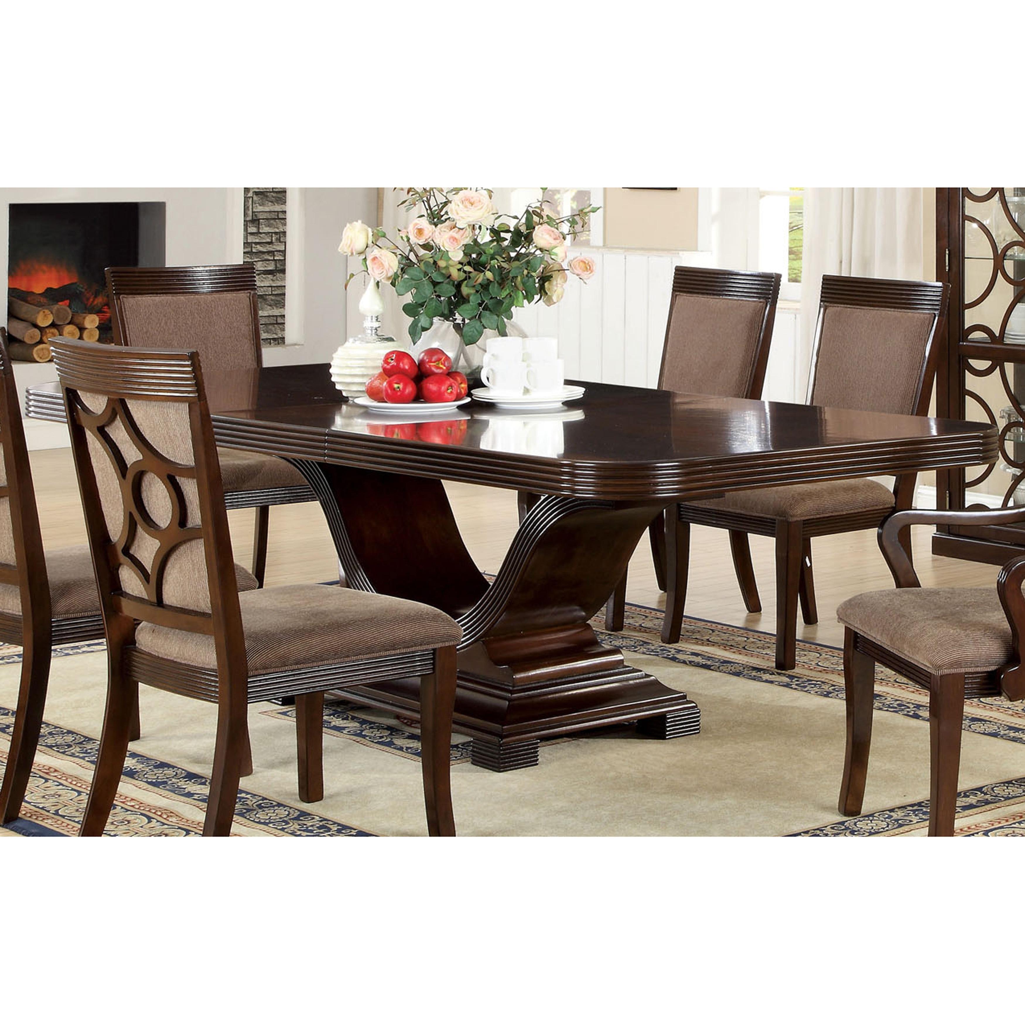 Furniture Of America Cins Modern Walnut