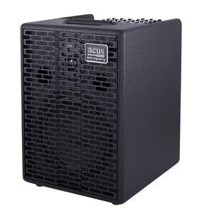 Acus Sound Engineering 03000802 OneforStrings 8 Black Finish Acoustic Guitar Amplifier