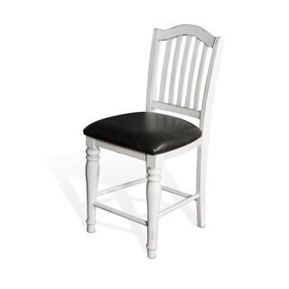 Sunny Designs Bourbon County Off-white Birchwood 24-inch Barstool