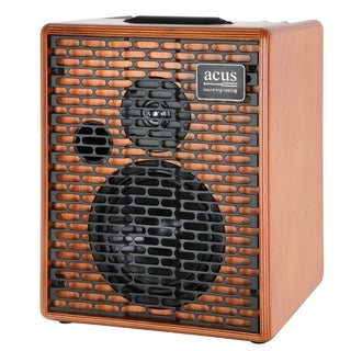 Acus Sound Engineering 03000603 OneforStrings 6T Wood Finish Acoustic Guitar Amplifier