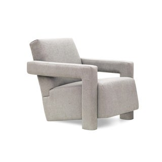 Fitz Dove Grey Upholstered/Wood Chair