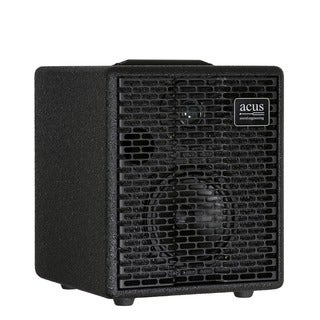 Acus Sound Engineering 03000502 OneforStrings 5 Black Finish Acoustic Guitar Amplifier