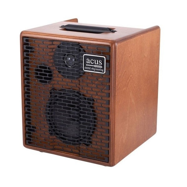 Acus Sound Engineering 03000501 OneforStrings 5 Acoustic Wood Finish Guitar Amplifier