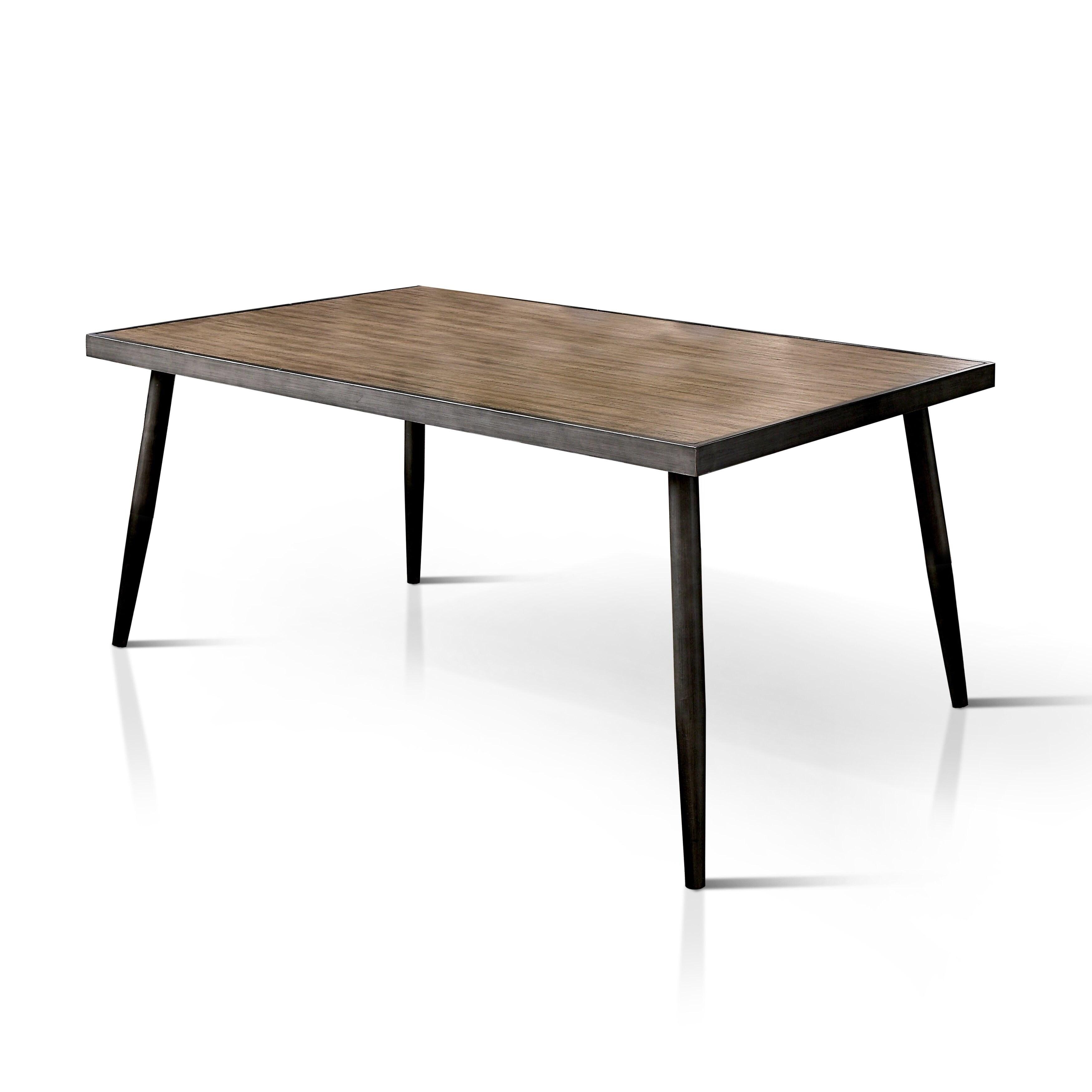 Carson Carrington Bolgheri 64 Inch Dark Brown Dining Table
