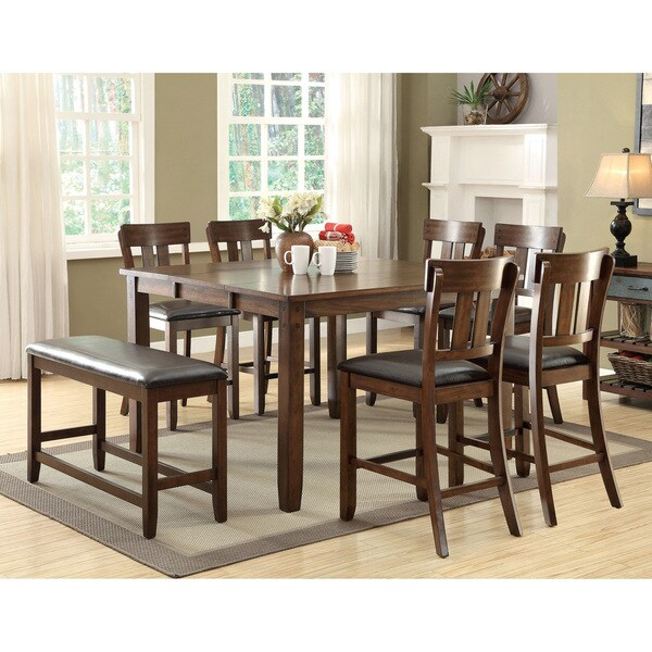 Counter Height Rustic Dining Table : ... America Casington Country Style Rustic Oak Counter Height Dining Table
