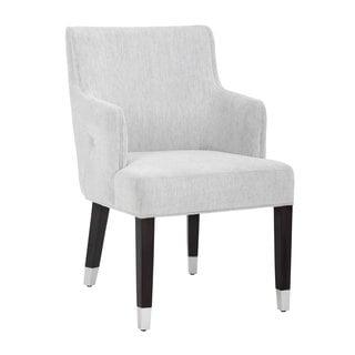 Sunpan Vanessa Hemingway Marble Fabric Armchair