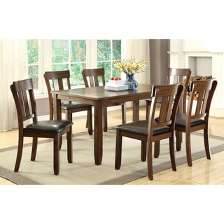 Furniture of America Casington Country Style Rustic Oak 64-inch Dining Table