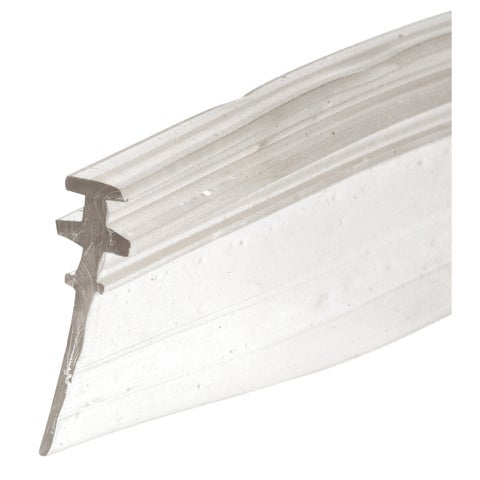 "Prime Line M6228 3/4"" Clear Vinyl Shower Door Bottom Sweep"