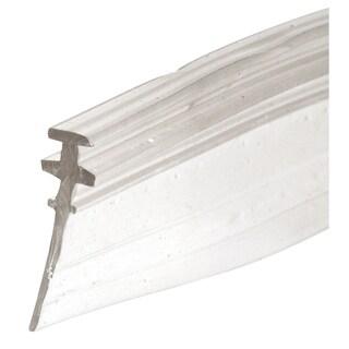 """Prime Line M6228 3/4"""" Clear Vinyl Shower Door Bottom Sweep"""