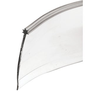 """Prime Line M6227 1/8"""" X 1-5/16"""" X 36"""" Clear Vinyl Shower Door Bottom Sweep"""