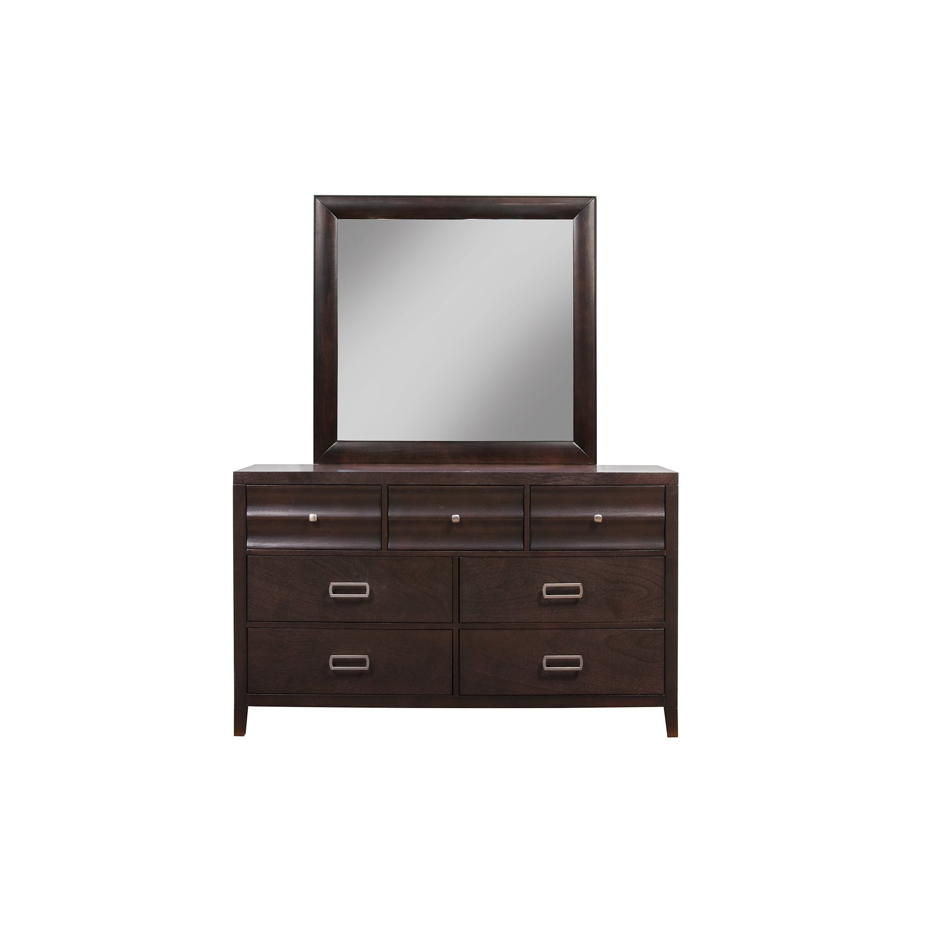 Alpine Furniture Alpine Legacy Wood Framed Mirror (Legacy...