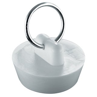 "Plumb Craft Waxman 7512000T 1"" White Basin Stopper"