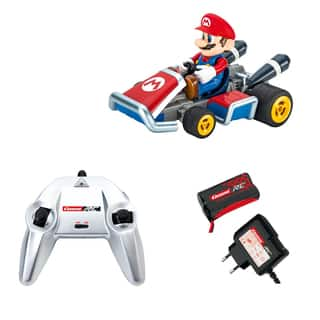 Carrera Nintendo 1:16-scale Remote Controlled Mario Kart Game https://ak1.ostkcdn.com/images/products/12985960/P19731336.jpg?impolicy=medium