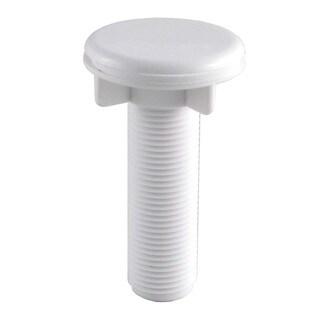 LDR 501 6415WT White Faucet Hole Cover