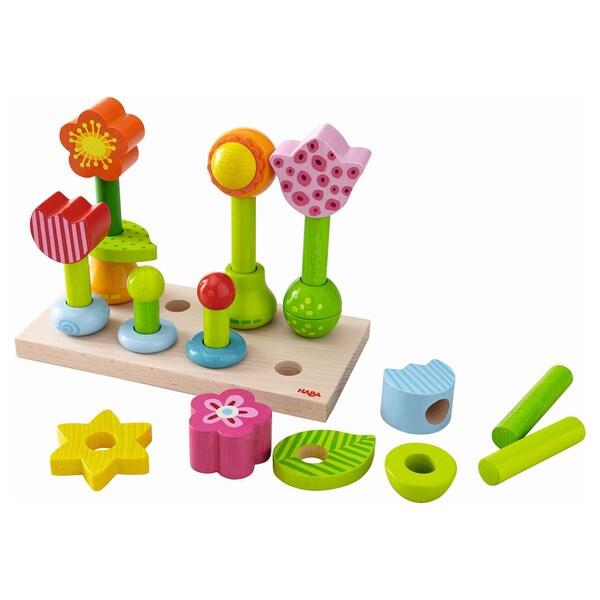 Haba Flower Garden Pegging Game