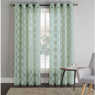 Vcny Adriana Grommet Curtain Panel 17650998 Overstock
