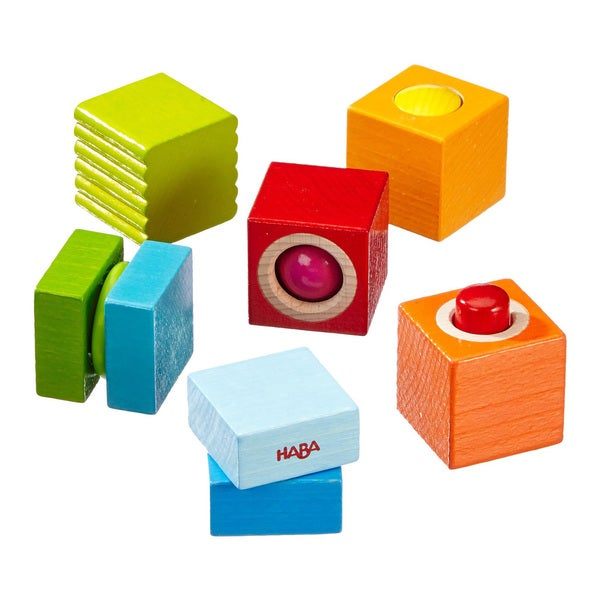 Haba Fun with Sounds Wood Discovery Blocks