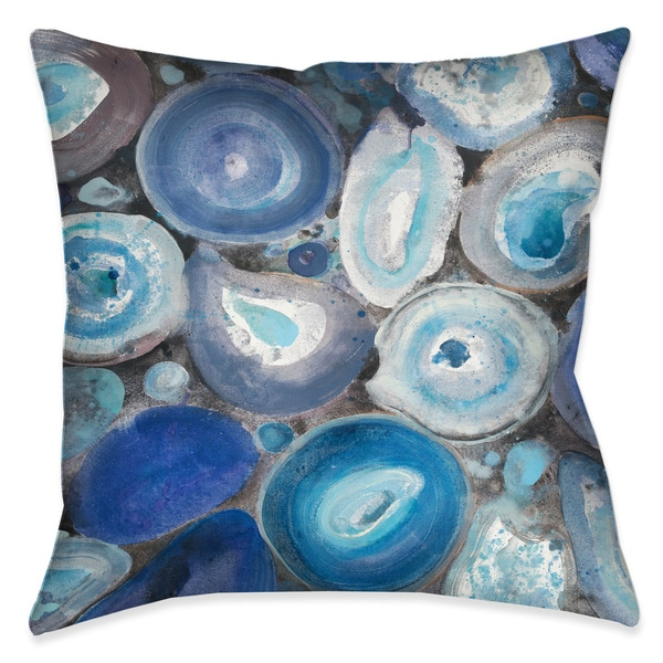 Laural Home Geode Collection Decorative Throw Pillow