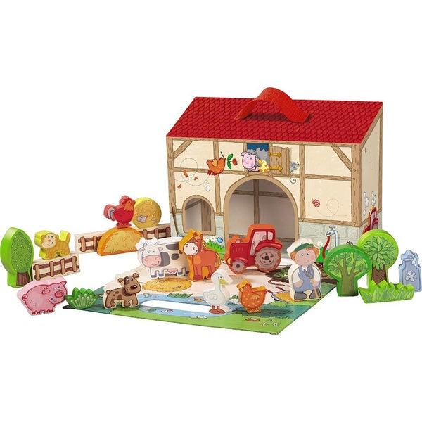Haba Farm Wooden Large Play Set