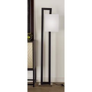 Modern 62 Inch Open Rectangular Floor Lamp by Studio 350