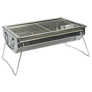 TrailWorthy Stainless Steel Charcoal BBQ Grill