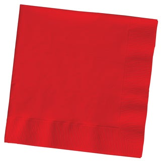 Creative Converting 661031B Classic Red 2 Ply Lunch Napkins