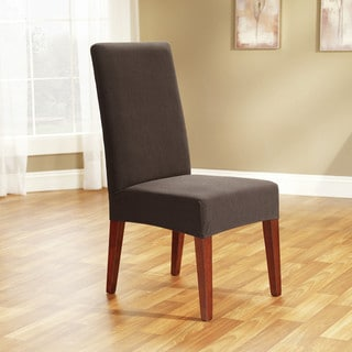 Sure Fit Stretch Honeycomb Shorty Dinning Room Chair Slipcover