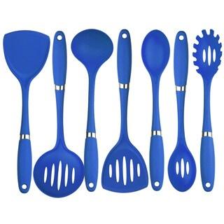 Cullinary Edge Blue Nylon/Polypropylene 7-piece Utensil Set