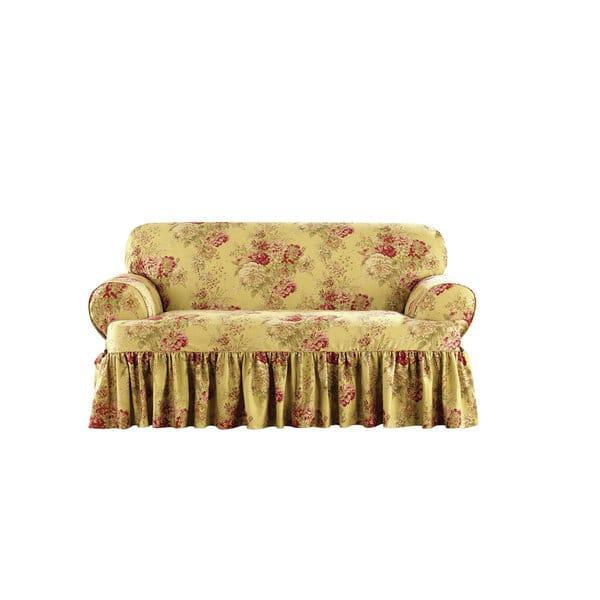 Remarkable Shop Sure Fit Ballad Bouquet Loveseat T Cushion Skirted Machost Co Dining Chair Design Ideas Machostcouk