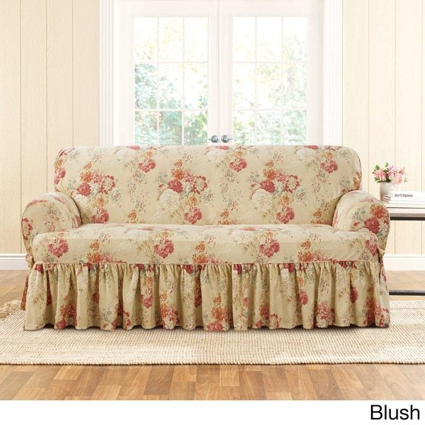 Sure Fit Ballad Bouquet Loveseat T by Sure Fit