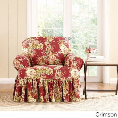 Buy Red Sure Fit Chair Covers Amp Slipcovers Online At