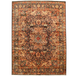 Herat Oriental Persian Hand-knotted Kashmar Wool Rug (9'6 x 12'10)