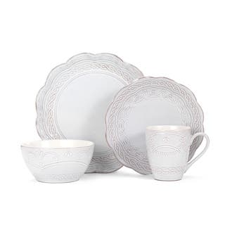 Pfaltzgraff Everyday Elle White and Beige Stoneware 16-piece Dinnerware Set (Service for 4)|https://ak1.ostkcdn.com/images/products/12990648/P19737046.jpg?impolicy=medium
