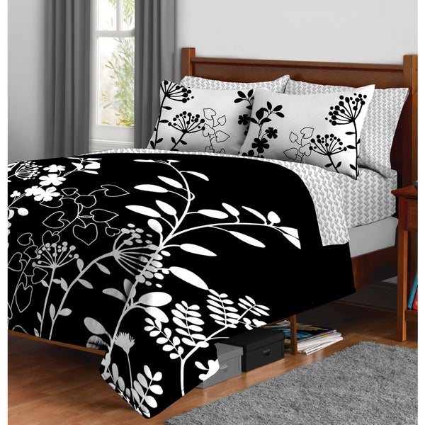 Formula Botanica 7-piece Bed in a Bag with Sheet Set