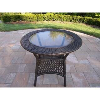 Merit Resin Wicker Side Table