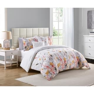 Floral comforter sets find great fashion bedding deals shopping at vcny misha comforter set mightylinksfo