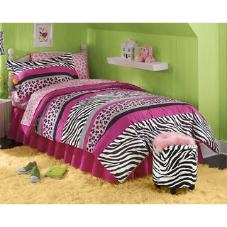 Queen of the Jungle 8-piece Bed in a Bag with Sheet Set