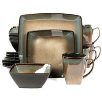 Gibson Tequesta 16-piece Stoneware Dinnerware Set