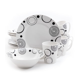 Gibson Home Modern Times 12-piece Dinnerware Set (Service for 4)