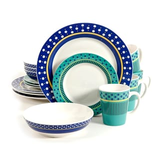 Gibson Lockhart 16pc Dinnerware Set