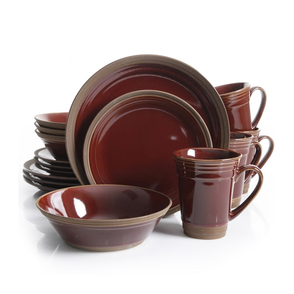Gibson Brynn 16-piece Dinnerware Set  sc 1 st  Overstock.com : gibson tableware - pezcame.com