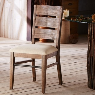INK+IVY Monterey Natural Solid Wood Dining Side Chair Set of 2