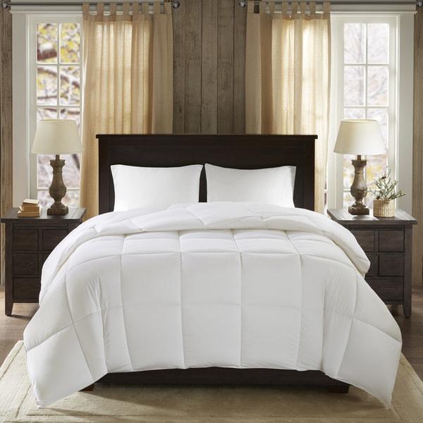 Woolrich Westfield All Season Cotton Sateen Down Alternative Hypoallergenic Comforter