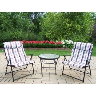 Effortless Foldable 3-piece Bistro Set