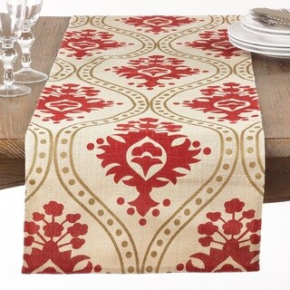 Damask Jute Table Runner
