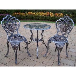 Monarch Cast Aluminum 3-piece Outdoor Bistro Dining Set